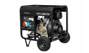 Генератор дизельный HYUNDAI DHY 6000LE-3 + колеса