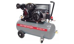 Компрессор воздушный масляный с ременным приводом КВ-430/100