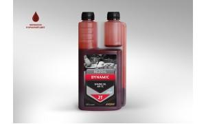 Масло минеральное REZOIL DYNAMIC с дозатором (0.946 л) для 2-тактных двигателей API TB Rezer