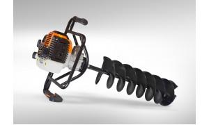 Мотобур CARVER AG-252/200 PRO со шнеком 200 мм 01.003.00001