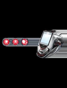 Маска сварщика «Хамелеон» ULTIMA 5-13 Panoramic Silver (зона обзора 100 мм х 93 мм)