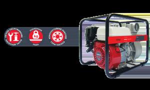 Бензиновая мотопомпа для слабозагрязненной воды Fubag PTН 1000 ST