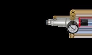 Фильтр с регулятором давления с манометром_наружная резьба_0-12бар_3/8