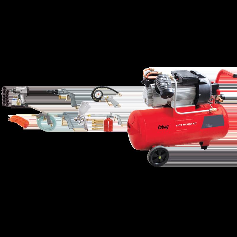 Набор компрессорного оборудования paint master kit предназначен дляокрашивания различных поверхностей и